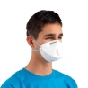 Maschera facciale con valvola FFP2