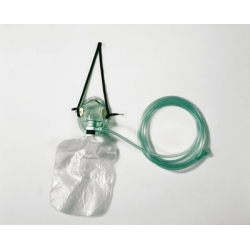 Maschera Ossigenoterapia Pediatrica con reservoir.