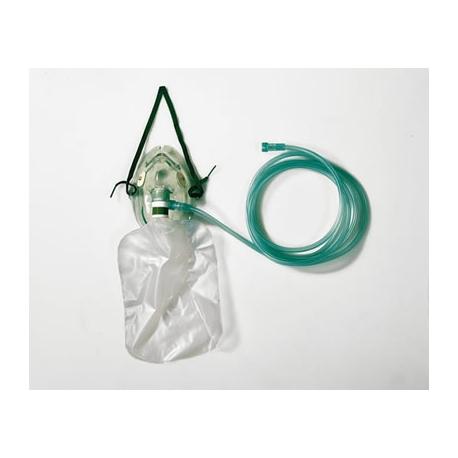 Maschera Ossigenoterapia Adulti con reservoir